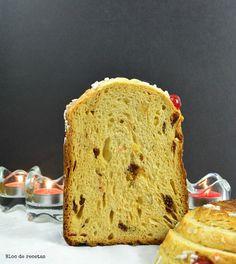 Bloc de recetas: Rosquipan, el pan dulce con sabor a Panettone hecho en panificadora