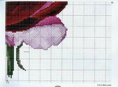 Solo Patrones Punto Cruz 6/7 Pink Rose