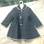 Textured fabrics for tailoring from Hucklebones kids fashion for winter Playtime
