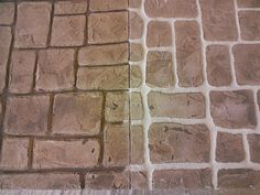 Concrete Coatings Brick Pattern - Knoxville TN
