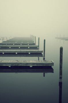 Docks and fog go hand in hand :)
