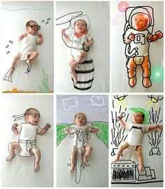Lovely #Baby - this is brilliantly imaginative <3