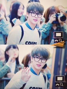 BTS @150522 otw to Music Bank