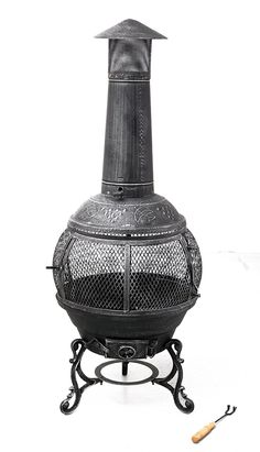 Tepro Cast Iron Fire Set, Multi Colour