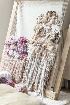 Handmade Wall Hanging, Weaving, DIY loom Tapestry Weaving, Wall Tapestry, Weaving Wall Hanging, Handmade Wall Hanging, Weaving Techniques, Loom, Hand Weaving, Nursery, Wall Decor