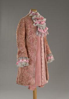 Costume worn by Donald Sutherland in Fellini's Casanova. Designed by Danilo Donati.