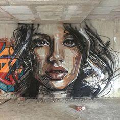 "Victoriano ""Spanish graffiti artist"" - Street art and graffiti magazine art art graffiti art quotes Street Art Banksy, Banksy Graffiti, Graffiti Artwork, Murals Street Art, Mural Art, Graffiti Painting, Graffiti Cartoons, Best Graffiti, Graffiti Wallpaper"