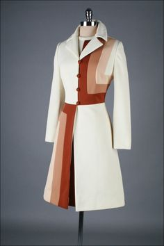 1960s jacket. I would love this in a different fabric, colors.
