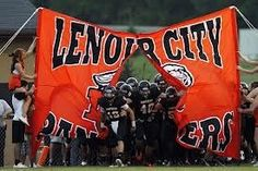 My high school & where I played football and ran track. Lenoir City High School. Go Panthers!