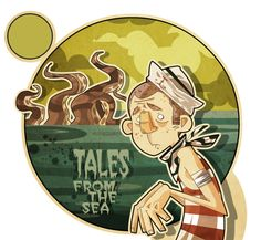 TALES from the SEA by Elvira Lanzafame, via Behance