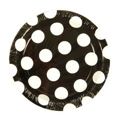 7 Black/White Dots Printed Plates/Case of 288 Tags:  Salad Plates; Paper Tableware; disposable Salad Plates;plastic Salad Plates;catering Salad Plates;wedding Salad Plates;;; https://www.ktsupply.com/products/32795331467/7-BlackWhite-Dots-Printed-PlatesCase-of-288.html