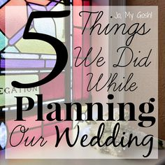#Wedding Planning Without Regrets! | Jo, My Gosh!