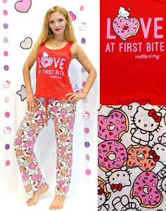 New Nwt Msrp $34 Toddler Girls Hello Kitty Nightgown Pajamas Size 2t Pink Rich And Magnificent