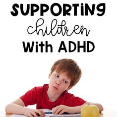 Does your child have ADHD or do you have a child with ADHD in your class? Check out these tips to help them be more successful.
