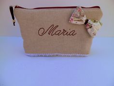 wedding  gift handbags personalized,clutch, organizer bag presents,or easter gift,beige  colors by homeworkart on Etsy