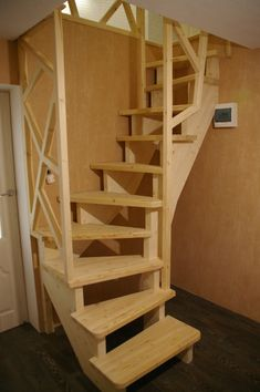 Attic Staircase, Loft Stairs, House Stairs, Staircase Design, Stair Design, Attic Playroom, Attic Rooms, Attic Spaces, Attic Bathroom