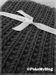 Bonnet snood pour homme tricot en gu ret de fonty - Changer de pelote tricot ...