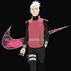 Shikamaru nike pink