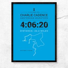 London Edinburgh Marathon Personalised Word Art Print Gifts Present Runner Men