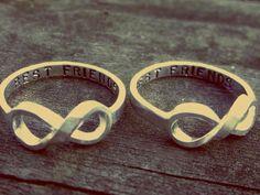 Best friends forever rings!