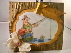 Ralph fishing .. rubbernecker stamps