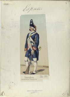 Reales Guardias de Infantería Española 1789 Granadero