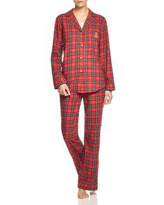 Lauren Ralph Lauren Madison Avenue Brushed Twill Pajama Set
