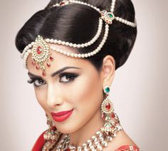 Girls Bridal Makeup,Hairstyles,School,Wedding Long,Hair Long,Short Hair with Bangs For Parties 2: Indian Bridal Hair Pictures Photos Images ...