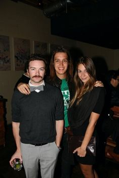 Danny with Julian Casablancas and his wife, Juliet.