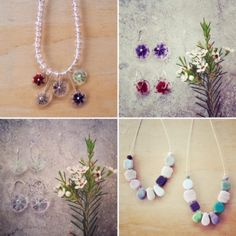 pretty in pink jewellery