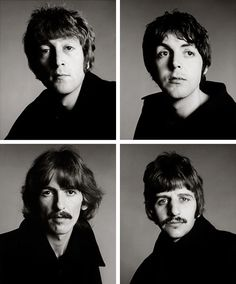 Beatles by Richard Avedon