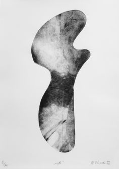 "Witold Winek ""uo-β"", 70X50, relief print, 2014"