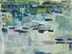 "Lori Glavin  Oil on Canvas, ""Pond""...a really lovely painting"