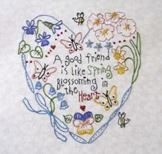 Carol's embroidery