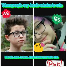 justin blake is way cuter comment js if u like jacob satiros better and comment jb if u like justin blake❤