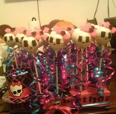 Monster High Cakepops