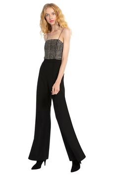 d28856dd6ee Black Sequin Dressy Jumpsuits for Women - This black jumpsuit with a  wonderful black sequin embellished