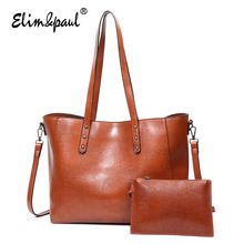 ELIM&PAUL Bags Women Top-handle Bags Female Tote Crossbody Shoulder Bag Lady Messenger Handbags Designer Bolsas Femininas YL-B06