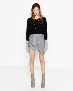 Image 1 de VESTE AVEC PERLES de Zara