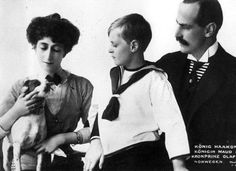 images of maud queen of norway Maud Of Wales, Norwegian Royalty, King Edward Vii, Royal Blood, Young Prince, Danish Royal Family, Danish Royals, Kaiser, Prince And Princess