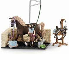 bridle Cow Girl Wild West saddle Rider /& moving limbs NEW Schleich Horse