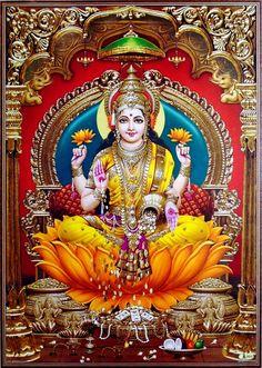 Lakshmi Maa (via ebay: Indian_ash)