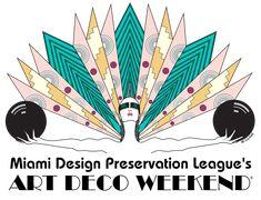 Art Deco Weekend Logo