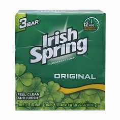 ...to keep DEER away from your garden, hang the bar of soap in a nylon stocking from a bush or tree..Organic Pest Control - Irish Spring Soap seems to work the best. I'm going to have to try this.
