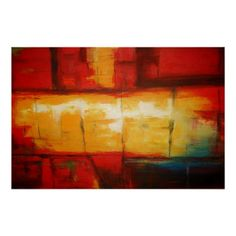 Contemporary Modern Abstract Painting Art Print