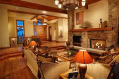 Craftsman Living Room - Found on Zillow Digs