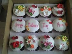 Mother's day cupcake giftbox