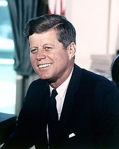 Official White House portrait of John F. Kennedy, the 35th President of the United States, serving 1961 until his assassination in 1963.