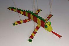 Leur faire fabriquer une marionnette à fil caméléon ! | Toysfab