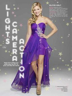 Olivia Holt LIGHTS AND ACTION !!
